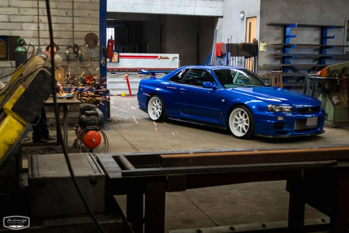 King of the Monsters: Domnic's R34 GT-R